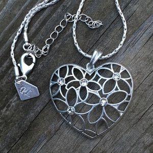 Designer heart necklace